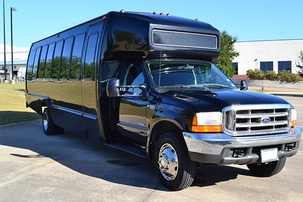 18 passenger party bus rentals Tulsa