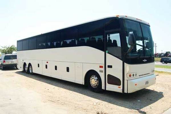 50 people charter bus rental Tulsa