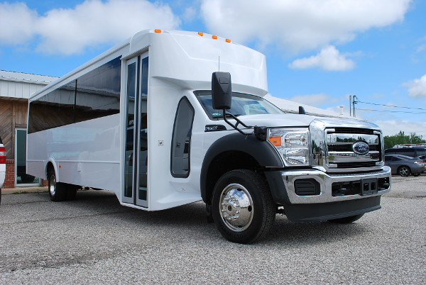 kids party bus rental tulsa